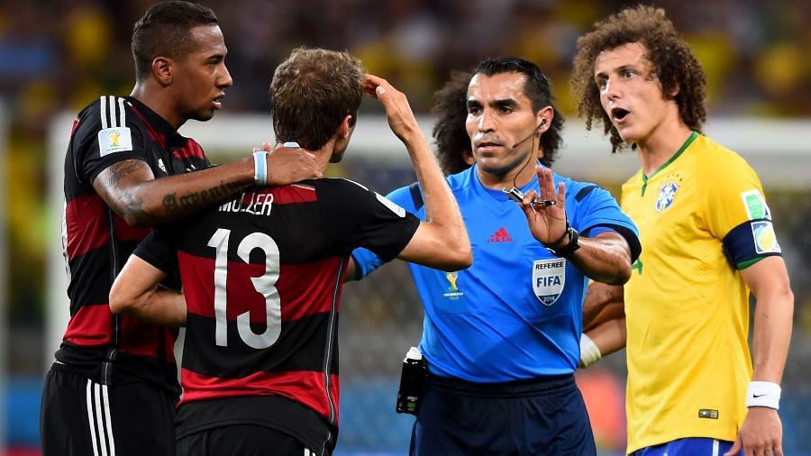 Rodríguez apitou o 7 a 1 e o jogo da mordida de Luis Suárez na Copa de 2014 - Buda Mendes/Getty Images