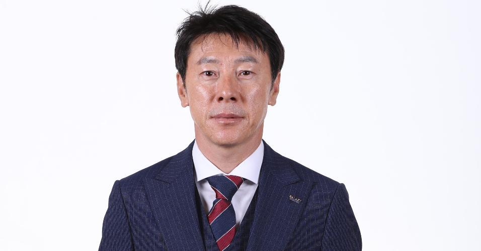 Shin Tae-Yong - técnico da seleção sul-coreana