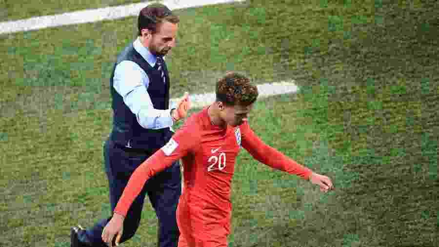 Dele Alli foi substituído no segundo tempo de Inglaterra x Tunísia - AFP PHOTO / NICOLAS ASFOURI /