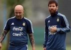 Argentina chama reunião com Sampaoli para negar rumores de motim de atletas (Foto: REUTERS/Marcos Brindicci)