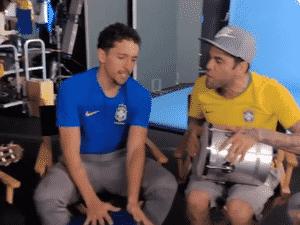 Marquinhos e Dani Alves - Reprodução/Instagram - Reprodução/Instagram
