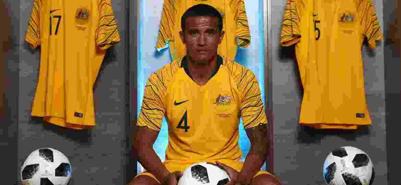 O atacante Tim Cahill defenderá a Austrália na Copa do Mundo da Rússia - Robert Cianflone/Getty Images