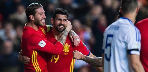 4e5c787960804 Espanha na Copa 2018  Sergio Ramos exalta responsabilidade da seleção após  demissão de técnico - UOL Copa do Mundo 2018