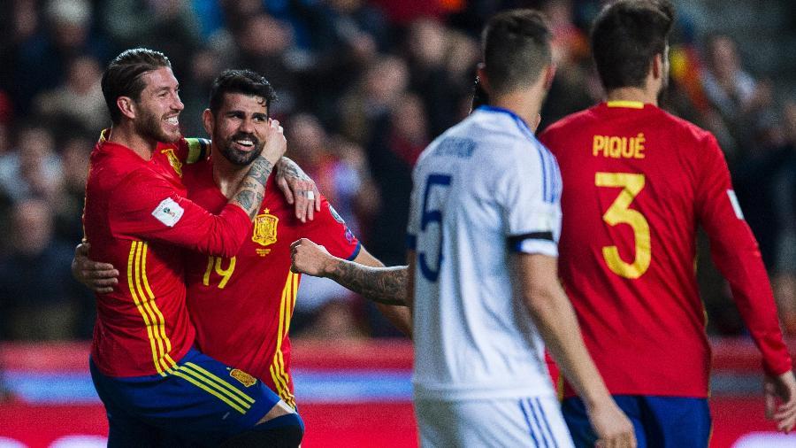 Sergio Ramos e Diego Costa dizem que agora são como irmãos - Juan Manuel Serrano Arce/Getty Images