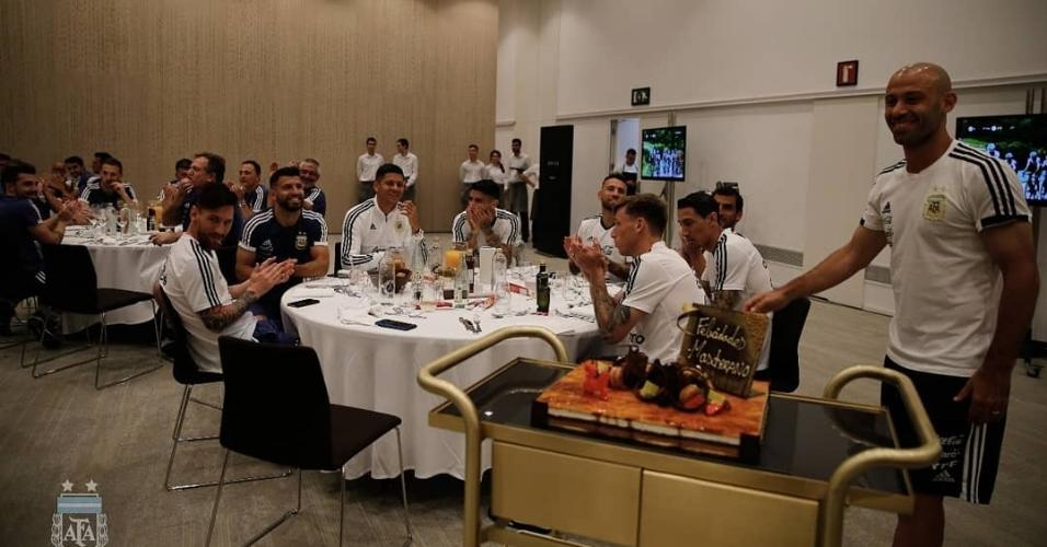 Javier Mascherano Argentina Copa do Mundo