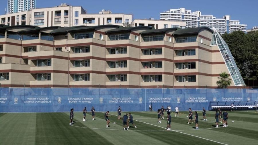 Seleção  Fifa coloca espiões para evitar e até abater drones em ... b73a114b0a2f4