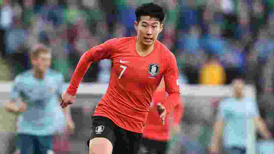 Son é o grande destaque da Coreia do Sul para a Copa na Rússia - Charles McQuillan/Getty Images