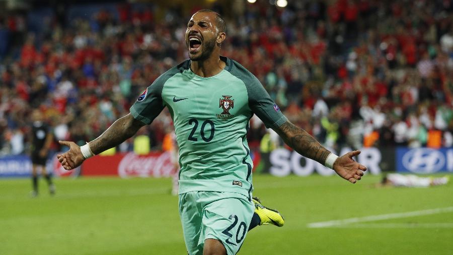 Ricardo Quaresma comemora gol durante a Eurocopa de 2016 - REUTERS/Lee Smith