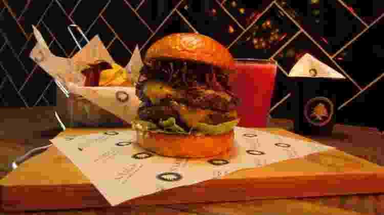 Lanchonete árabe Souk Burger - Divulgação - Divulgação
