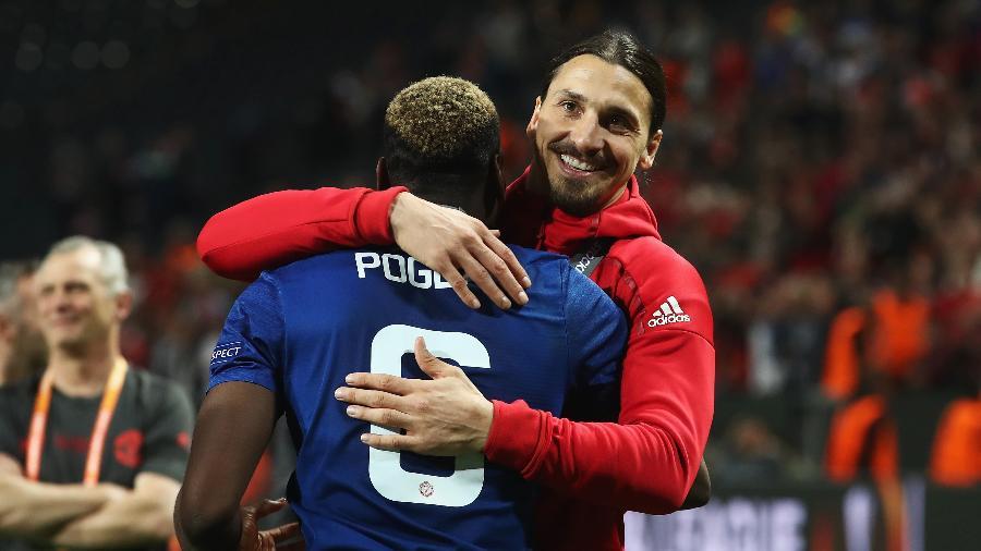 Paul Pogba sai em defesa de Zlatan Ibrahimovic após acusações de racismo - Julian Finney/Getty Images
