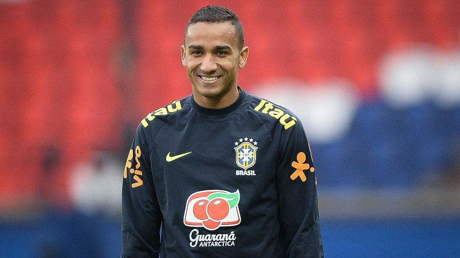 Danilo, lateral da seleção brasileira, foi destaque no amistoso com o Japão - Pedro Martins/MoWa Press