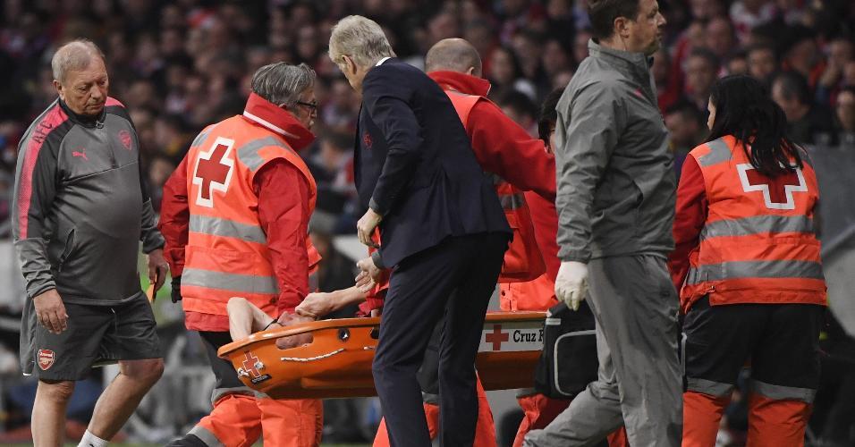Koscielny Wenger Arsenal