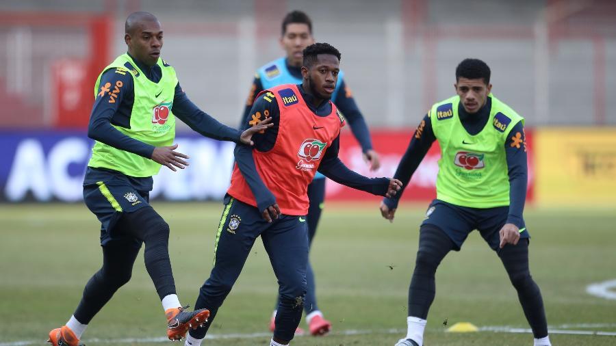 Fred se destacou nos treinos com a seleção. Taison decepcionou - Pedro Martins/MowaPress/Divulgação