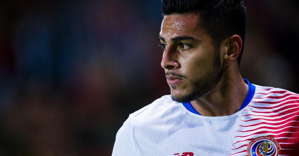 Ronald Matarrita, da Costa Rica, acabou cortado da Copa do Mundo 2018 por lesão