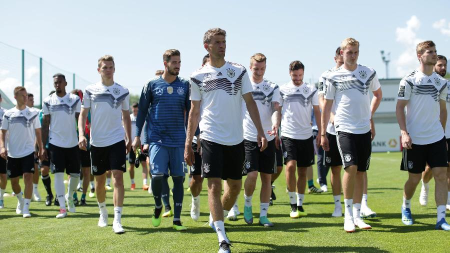 818b15db2a Alemanha é escalada para estreia com seis titulares da final de 2014 ...