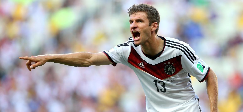 Thomas Muller atuou em três edições da Copa do Mundo, com um título e dez gols marcados - Julian Finney/Getty Images