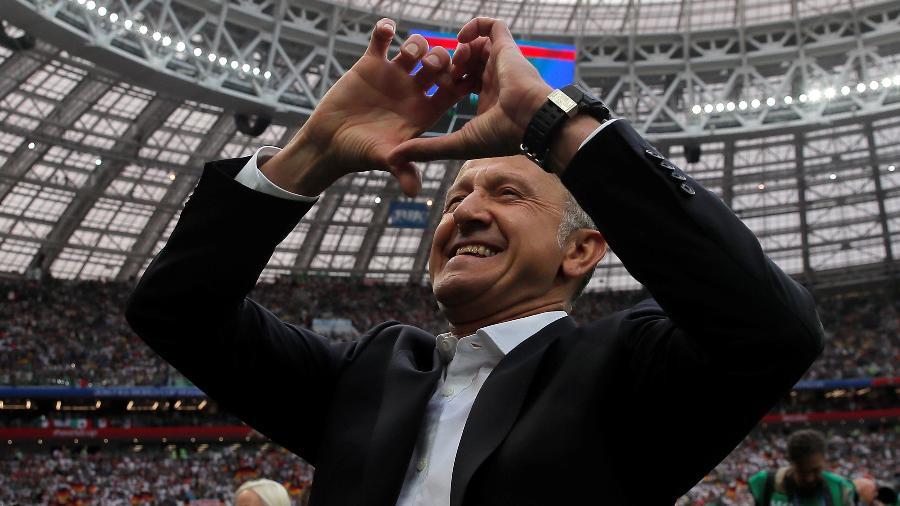 Criticado até o embarque à Rússia, Osorio fez do México uma das sensações do Mundial - REUTERS/Maxim Shemetov