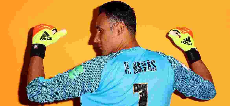 Keylor Navas, goleiro da Costa Rica, em foto oficial da Copa do Mundo da Rússia - Jamie Squire - FIFA/FIFA via Getty Images