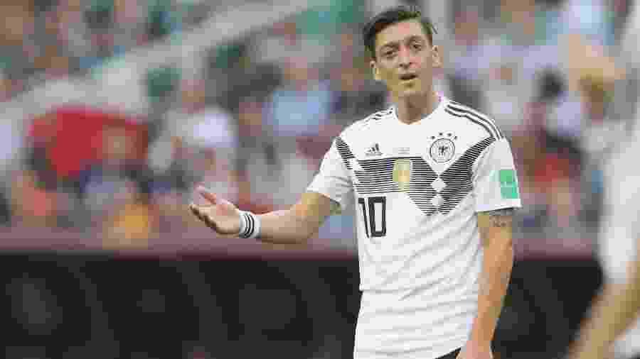 Ozil disse ter sido desrespeitado pela Federação Alemã por apoiar presidente turco - Alexander Hassenstein/Getty Images