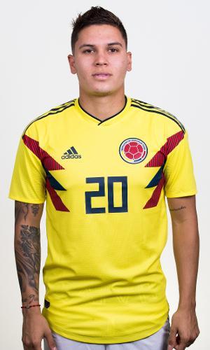 Juan Quintero - meia da seleção da Colômbia