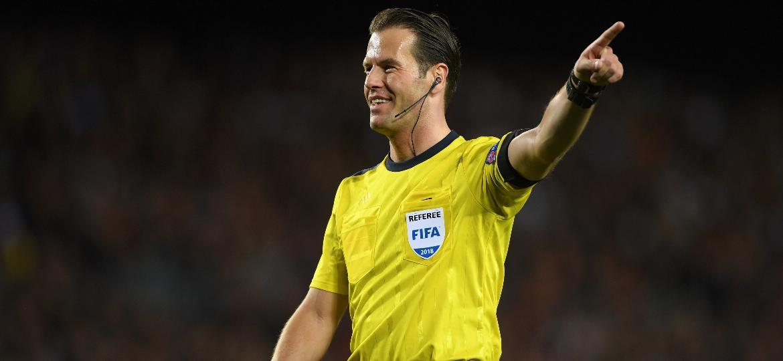 O árbitro holandês Danny Makkelie - Mike Hewitt/Getty Images