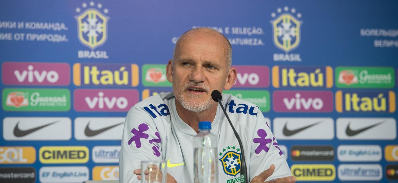 Taffarel participou das escolhas de Alisson, Ederson e Cássio - Pedro Martins / MoWA Press