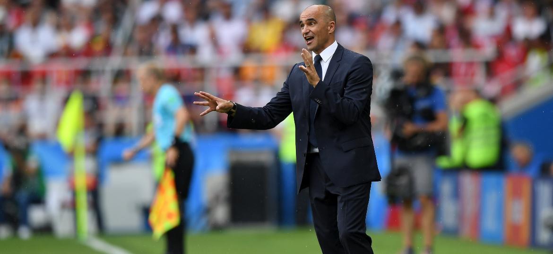 Técnico Roberto Martinez no duelo entre Bélgica x Tunísia - Shaun Botterill/Getty Images