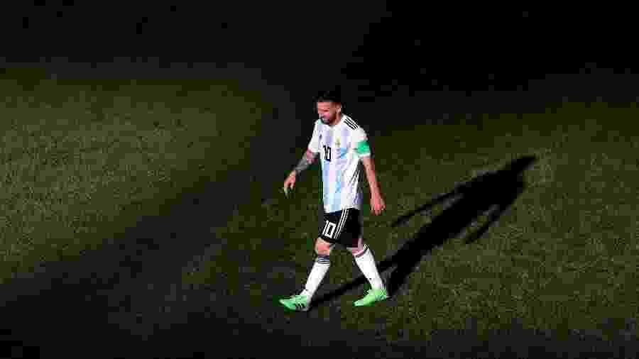Messi: adeus às Copas do Mundo pode ter sido contra a França - Catherine Ivill/Getty Images
