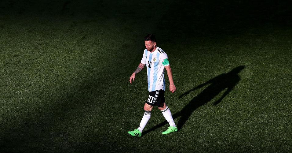 Messi, da Argentina, em duelo contra a França