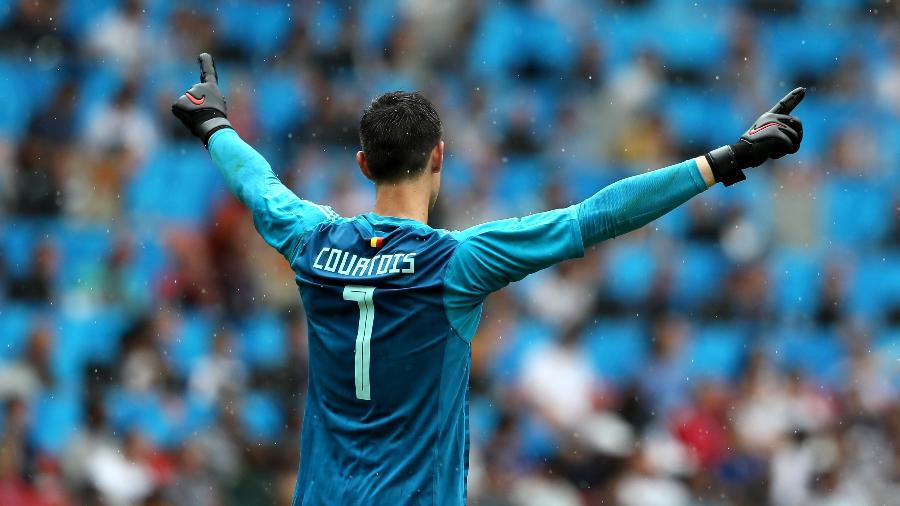 Chelsea havia dado permissão para retorno tardio, mas paradeiro de goleiro belga é desconhecido pelo clube - Kevin C. Cox/Getty Images