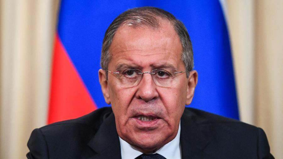 Sergei Lavrov é ministro de Relações Exteriores da Rússia - KIRILL KUDRYAVTSEV/AFP