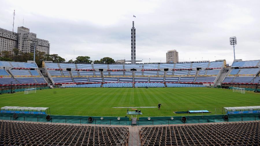 Tradicional Estádio Centenário, em Montevidéu, capital uruguaia - Laurence Griffiths/Getty Images