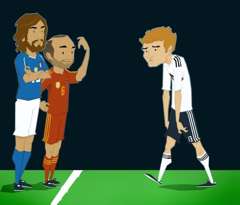 Alemanha cai na 1ª fase e repete Itália e Espanha, campeões nas edições anteriores
