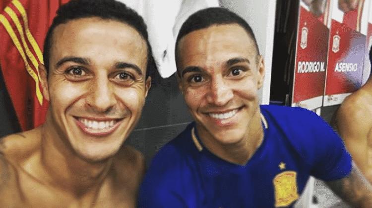 Rodrigo e Thiago - Reprodução/Instagram - Reprodução/Instagram