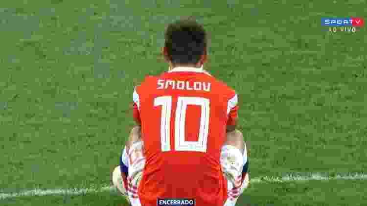 smolov - Reprodução/SporTV - Reprodução/SporTV