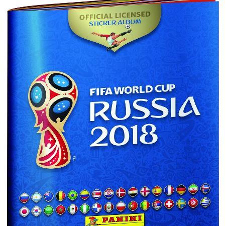 Versão definitiva do álbum da Copa de 2018 - Reprodução