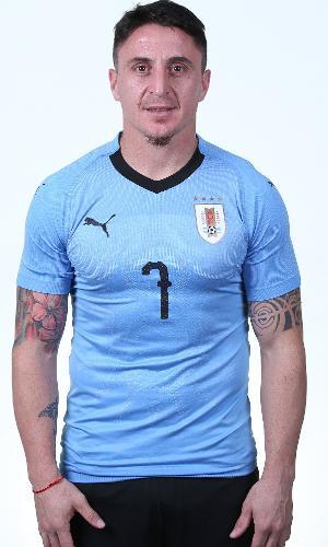 Cristian Rodriguez, jogador do Uruguai na Copa 2018