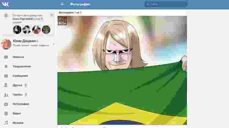 russo que viralizou em jogo do brasil -  -
