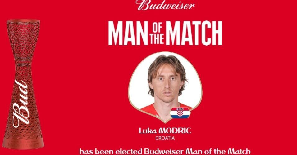 Luka Modric é eleito o