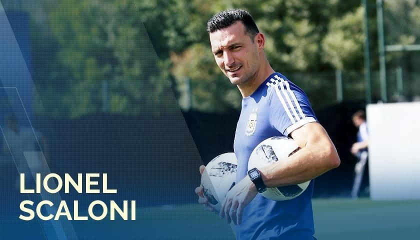 Lionel Scaloni assume equipe sub-20 da seleção argentina após demissão de Sampaoli