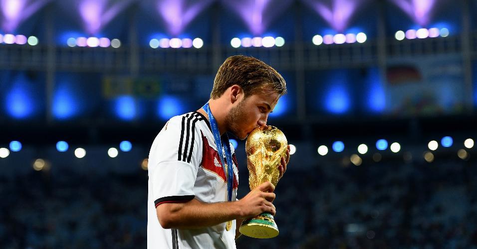 Mario Gotze Alemanha Copa do Mundo de 2014
