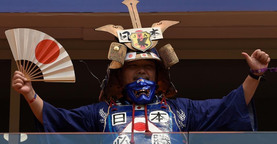 Samurai japonês Japão torcida