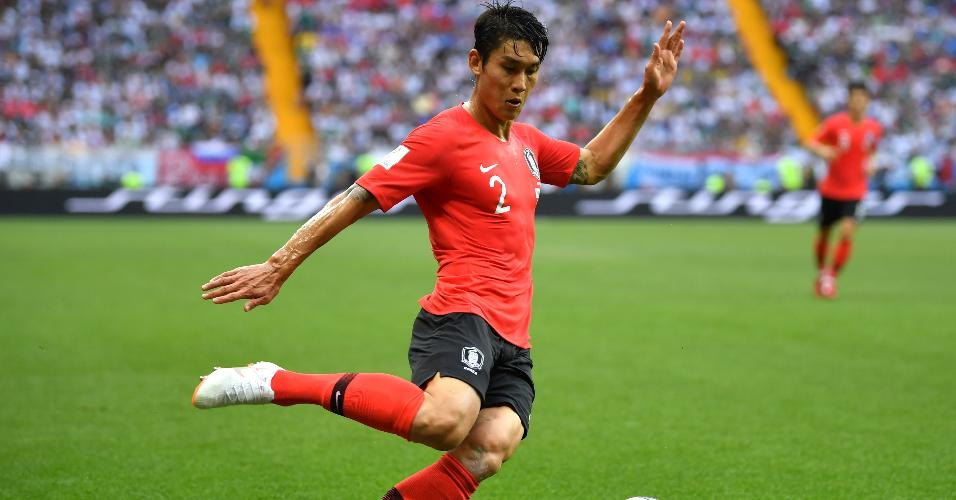 Lee Yong Coreia do Sul México Copa do Mundo