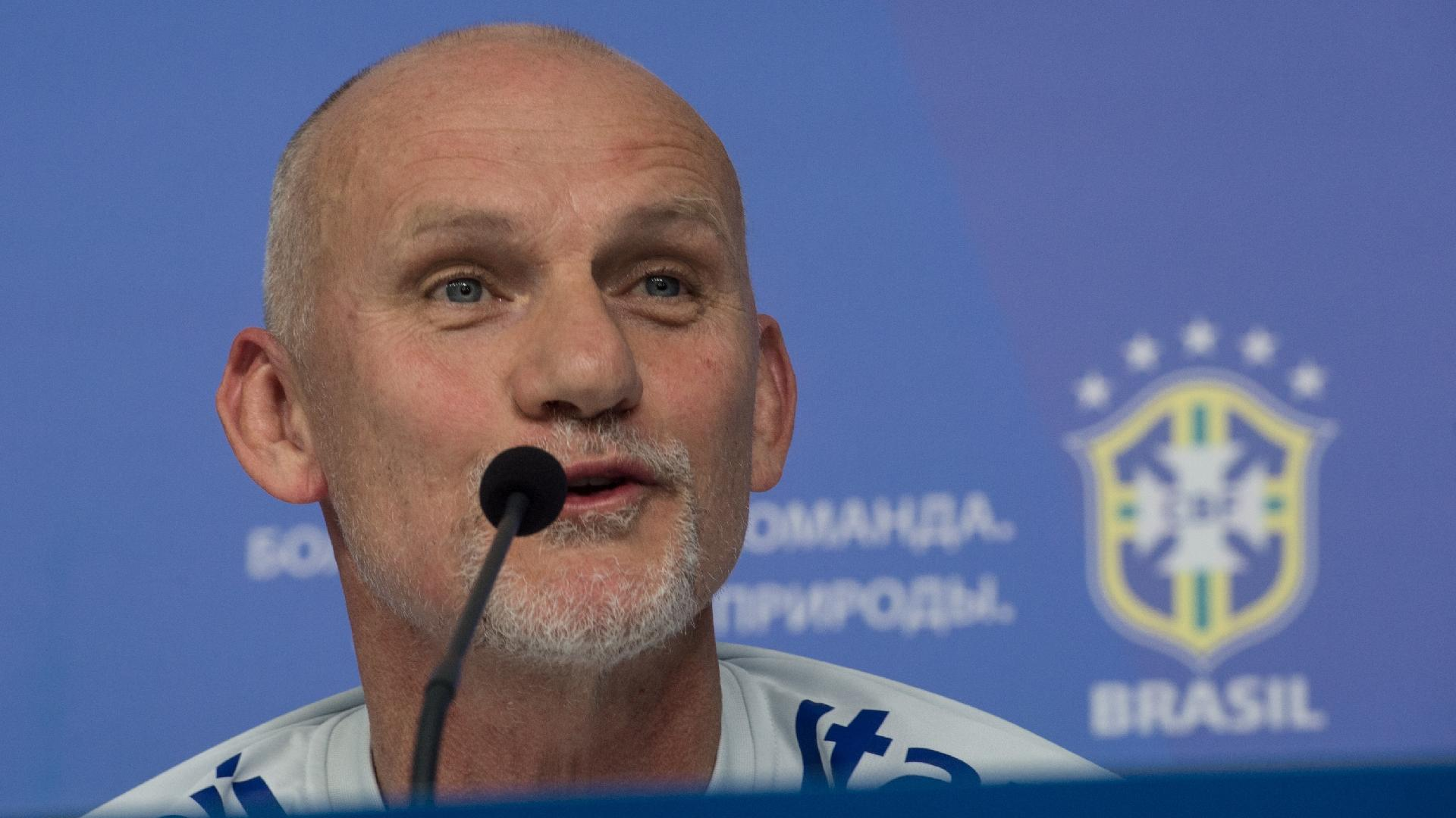 Taffarel, preparador de goleiros da seleção brasileira