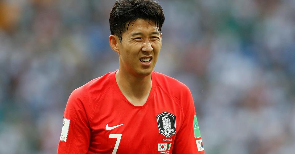 Son Coreia do Sul México Copa do Mundo