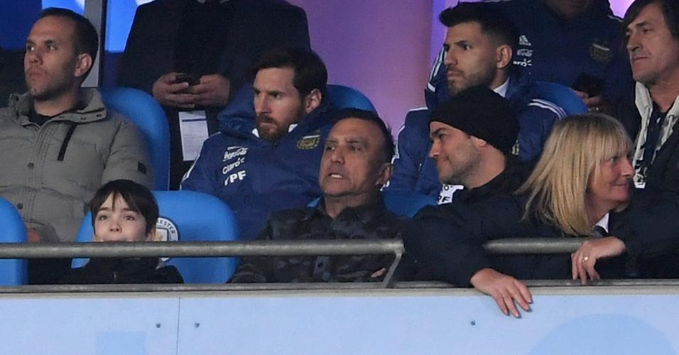 Lionel Messi Sergio Aguero Argentina Itália