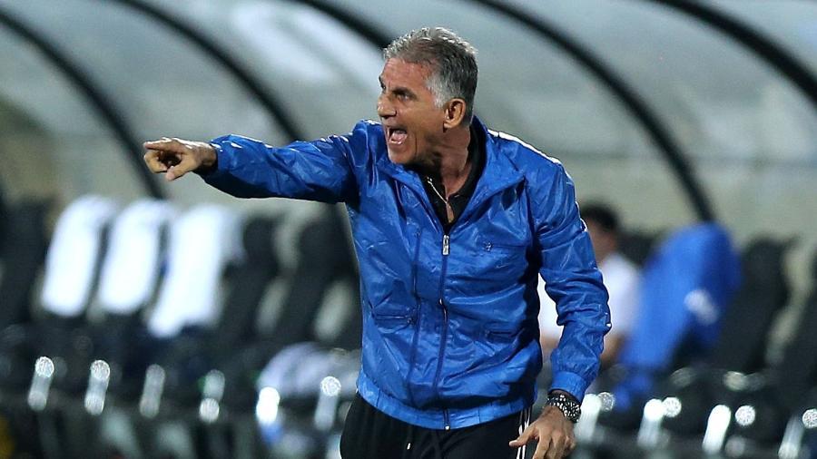 Carlos Queiroz, técnico da seleção do Irã - Atta Kenare/AFP