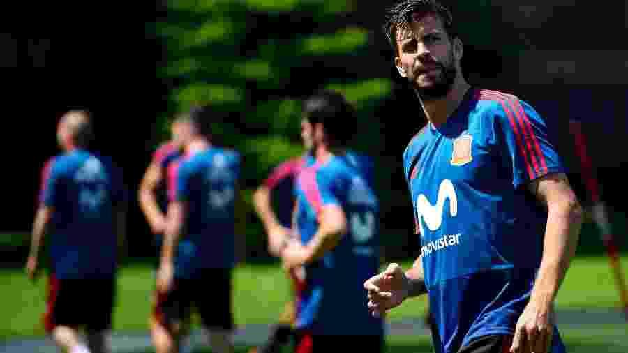 e8603f6ae8 Zagueiro entrará em lista seleta e completará 100 jogos pela seleção  principal da Espanha Imagem  AFP