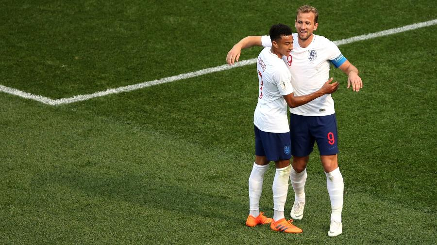 Atacante inglês pediu música de Calvin Harris e Dua Lipa ao ser perguntado pela Rede Globo - Clive Brunskill/Getty Images
