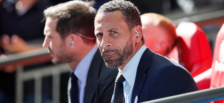 Rio Ferdinand foi jogador do Manchester United e da seleção inglesa - REUTERS/David Klein